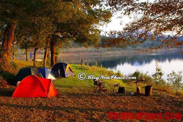 Cung cắm trại, nghỉ ngơi ở miền Bắc
