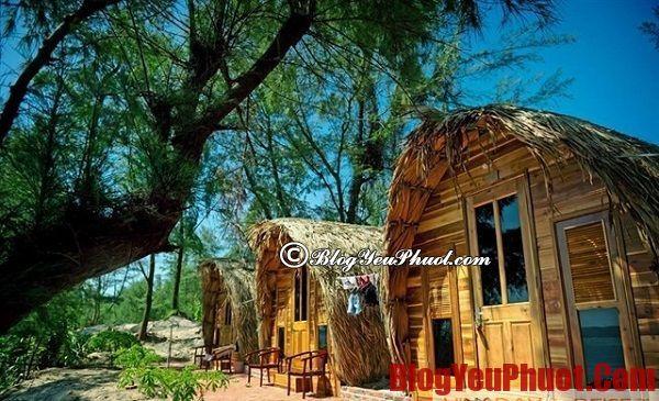 Nhà nghỉ tại Cô Tô