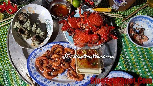 Ăn uống khi phượt đảo Lý Sơn