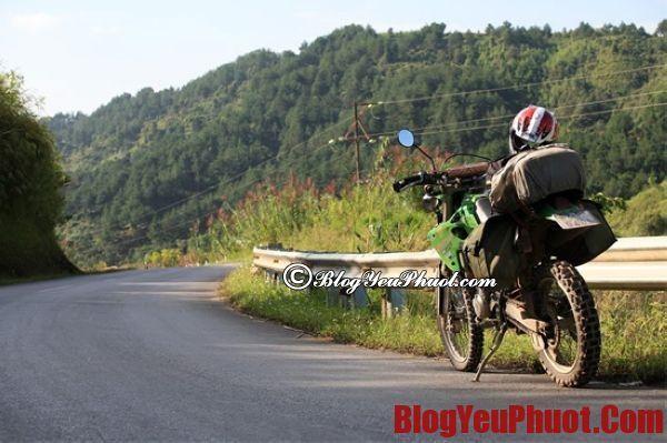 Hướng dẫn di chuyển khi phượt bằng xe máy