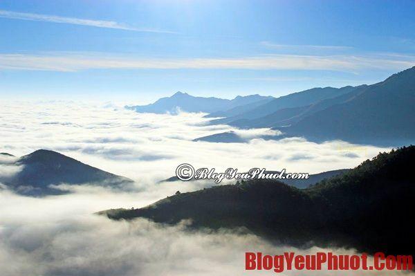 """Những địa điểm """"săn"""" mây đẹp nhất"""