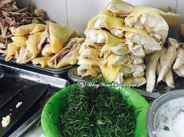 Những quán phở ngon tại Hà Nội. Phở gà Châm nổi tiếng Hà Nội
