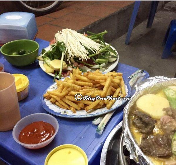 Địa chỉ quán ăn vặt ngon tại Hà Nội: Hà Nội có quán ăn vặt nào ngon?