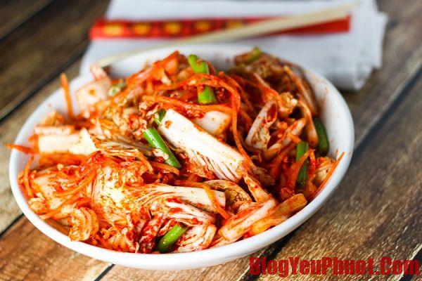 Món ngon Hàn Quốc nên thưởng thức. Địa chỉ ăn kim chi ngon ở Hàn Quốc