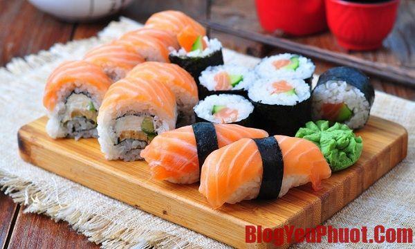 Địa chỉ ăn sushi ngon, chuẩn vị ở Nhật Bản. Ăn gì ngon khi đi Nhật Bản?