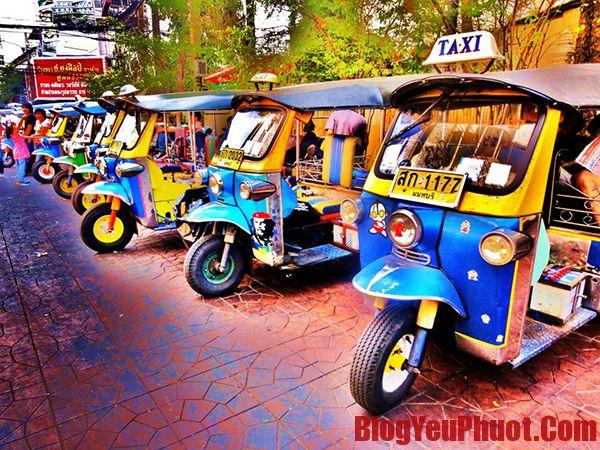Kinh nghiệm du lịch Thái Lan- phương tiện đi lại