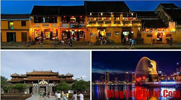 Kinh nghiệm du lịch Hội An-Huế- Đà Nẵng