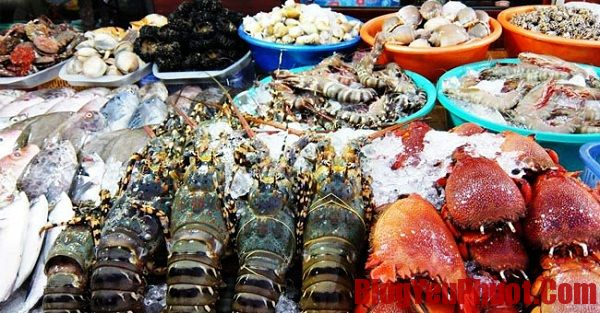 Kinh nghiệm phượt Phú Quốc- Món hải sản Hòn Móng Tay
