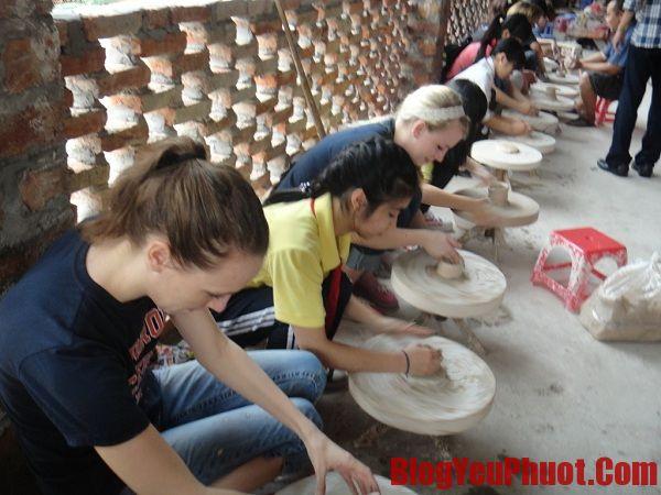 Kinh nghiệm du lịch Làng gốm Bát Tràng- Các hoạt động vui chơi, trải nghiệm