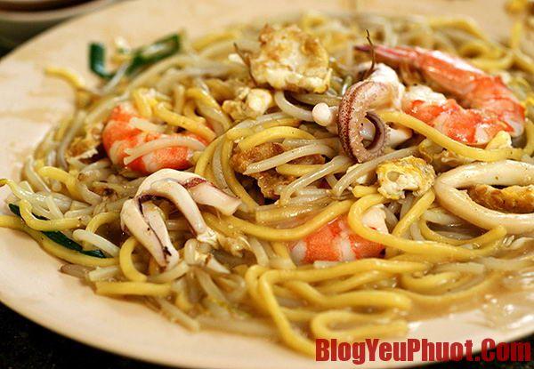 Món ngon Malaysia. Địa chỉ ăn mỳ Hokkien Mee nổi tiếng