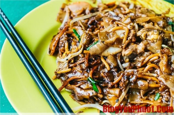 Món ăn đặc trưng của Malaysia. Địa chỉ ăn Char kuay teow ngon nhất ở Malaysia