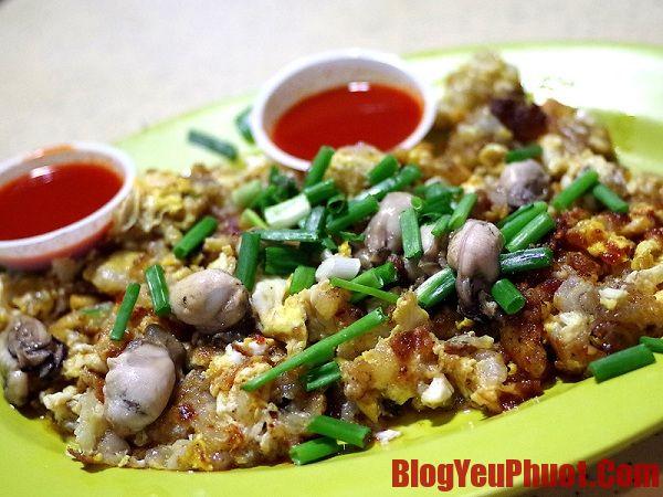 Món ngon Singapore. Ăn hàu tráng trứng ở đâu ngon tại Singapore