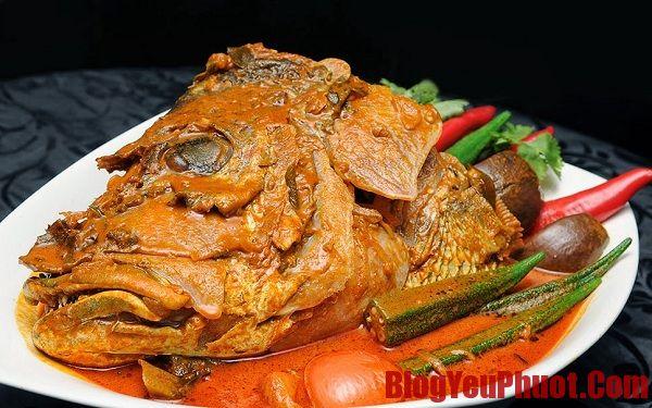 Ăn gì khi du lịch Singapore? Địa chỉ ăn đầu cá nấu cari ở Singapore