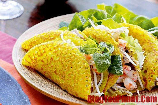 Địa chỉ ăn bánh xèo thơm ngon, nổi tiếng ở Đà Nẵng. Quán ăn vặt đông khách ở Đà Nẵng