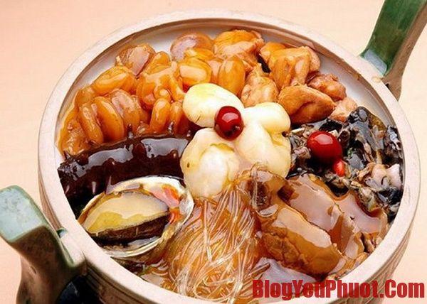 Đặc sản Đài Loan - Phật nhảy tường món ăn nổi tiếng ở Đài Loan