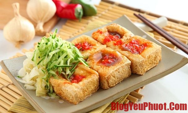Đặc sản Đài Loan - đậu phụ thối món ăn nổi tiếng Đài Loan