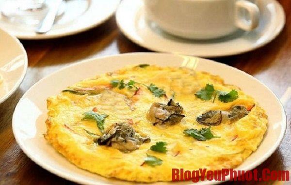 Các món ăn đặc sản Đài Loan, trứng tráng sò điệp