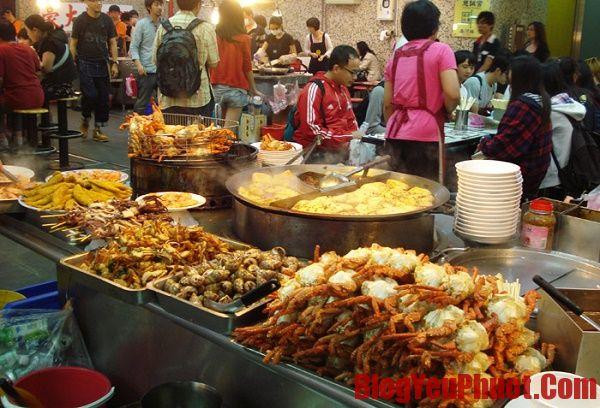 Các món ăn đường phố - đặc sản Đài Loan