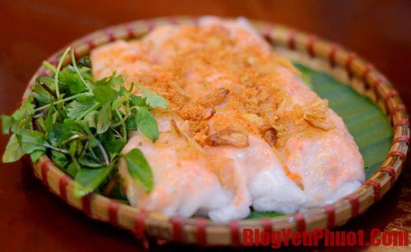 Địa chỉ ăn bánh cuốn ngon ở Sầm Sơn. Đặc sản Sầm Sơn nên thưởng thức