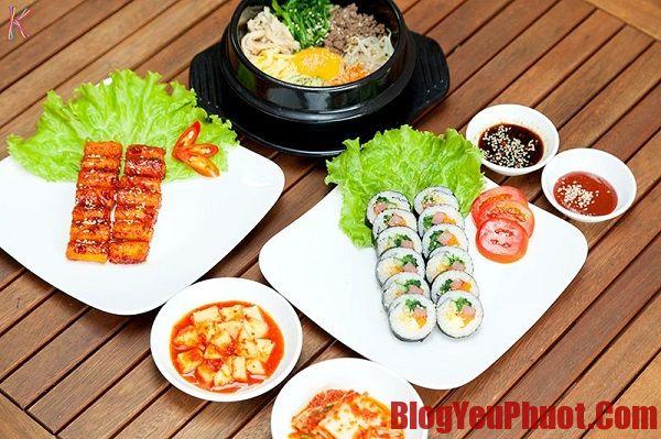 Kinh nghiệm du lịch Hàn Quốc về ăn uống