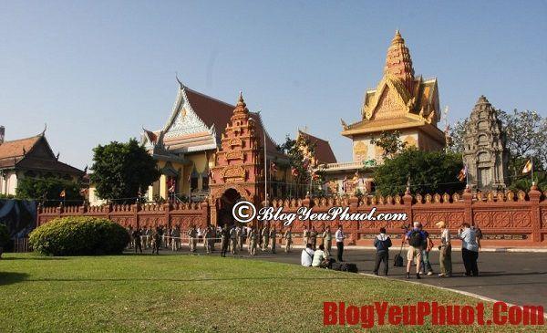 Kinh nghiệm du lịch bụi Phnom Penh