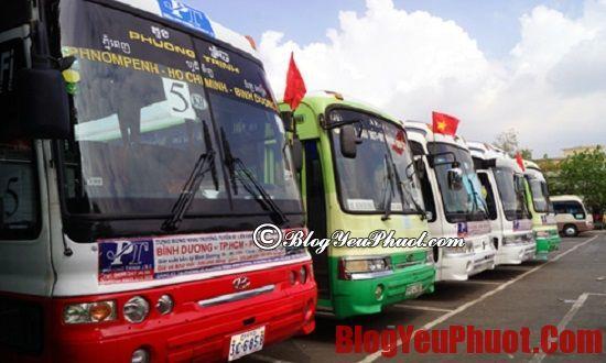Nên đi du lịch Phnom Penh bằng phương tiện gì?