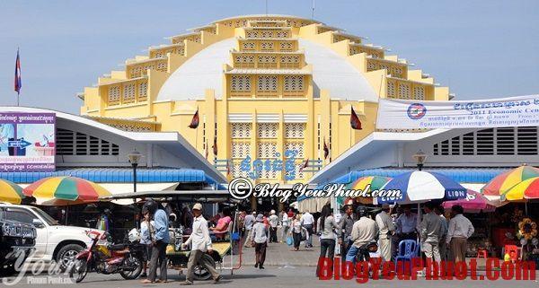 Các địa điểm du lịch nổi tiếng ở Phnom Penh