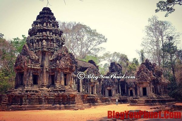 Địa điểm tham quan ở Phnom Penh