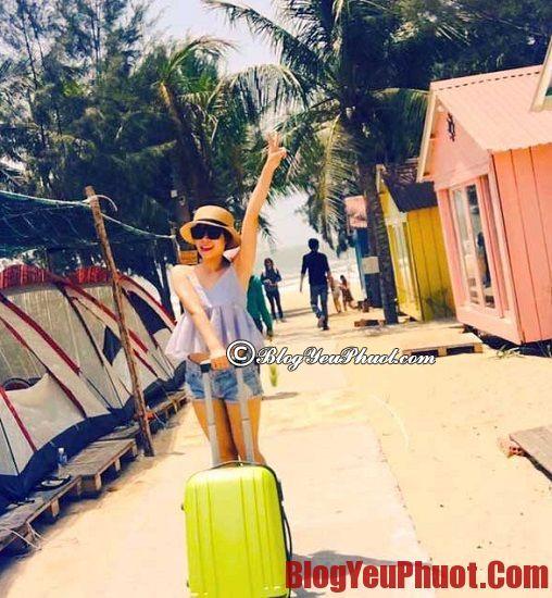 Kinh nghiệm du lịch bụi Coco Beach Camp