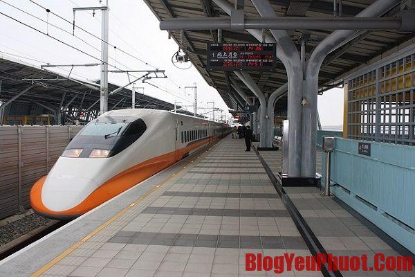 Kinh nghiệm đi lại ở Đài Loan bằng tàu cao tốc