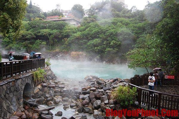 Công viên quốc gia Yangmingshan - điểm đến khi đi du lịch Đài Loan