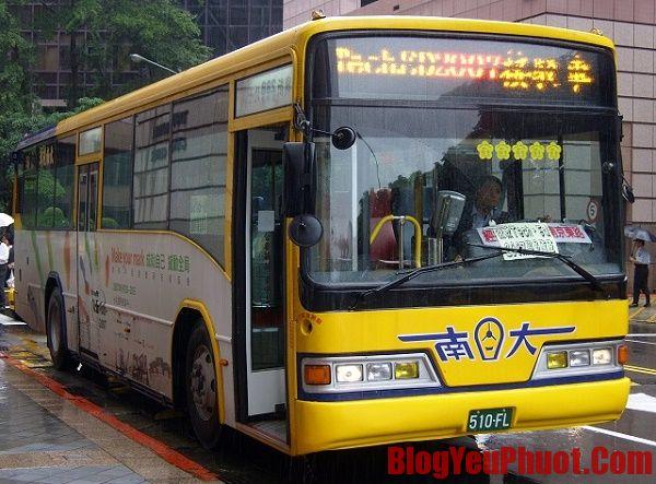 Kinh nghiệm đi lại ở Đài Loan bằng xe bus