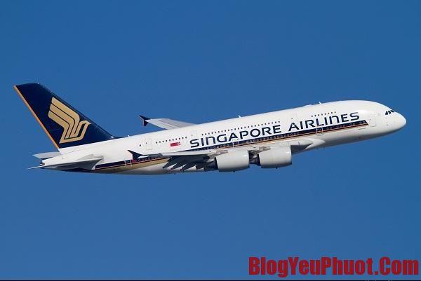 Kinh nghiệm du lịch Singapore. Máy bay đi Singapore