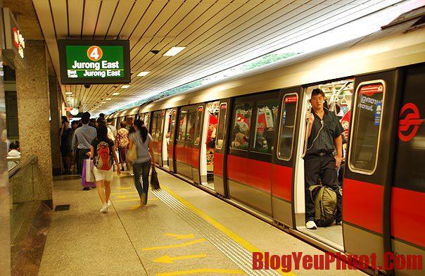 Kinh nghiệm du lịch Singapore. Phương tiện đi lại ở Singapore