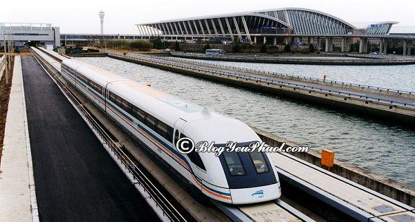 Du lịch Thượng Hải bằng tàu cao tốc