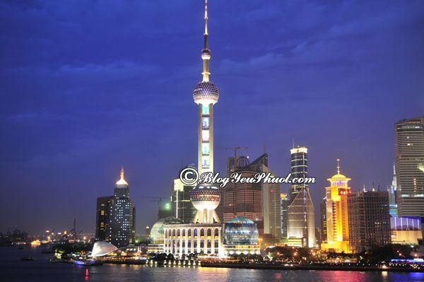 Tháp truyền hình Minh Châu Toàn Câu - điểm tham quan Thượng Hải