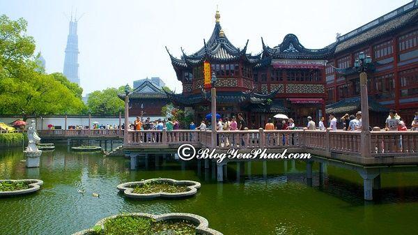 Vườn Dự Viên (Yuyuan) - điểm quan tham Thượng Hải
