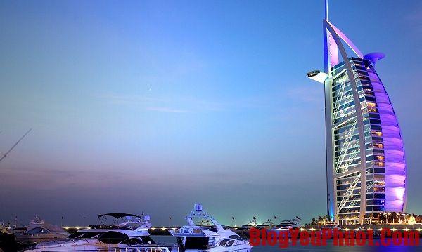 Kinh nghiệm du lịch Dubai