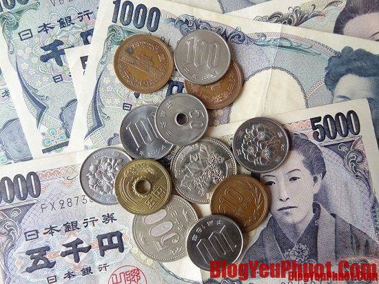 Hướng dẫn du lịch Nhật Bản. Đổi tiền du lịch Nhật Bản