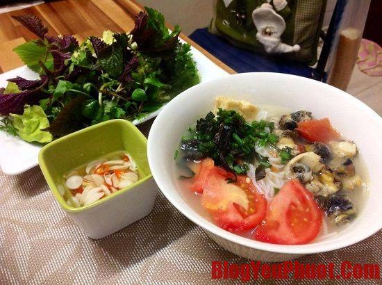 Địa chỉ ăn bún ốc ở Hà Nội ngon, đảm bảo, nổi tiếng. Du lịch Hà Nội nên ăn món gì ngon?