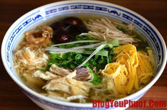 Địa chỉ quán ăn Bún Thang nổi tiếng nhất ở Hà Nội. Tổng hợp nhà hàng, quán bún Thang ngon nhất Hà Nội