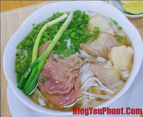 Những món ăn nổi tiếng ở Hà Nội - Địa chỉ ăn phở nổi tiếng ở Hà Nội