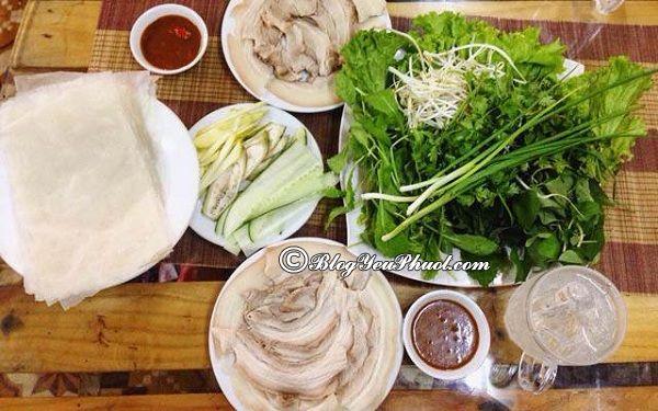 Ăn bánh tráng cuốn thịt heo ở đâu ngon nhất Đà Nẵng?