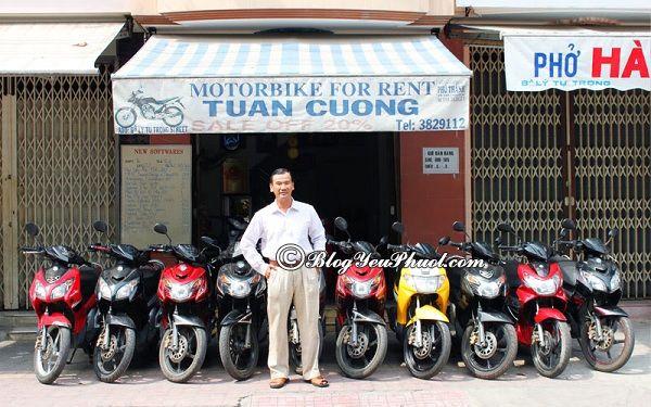 Các địa chỉ cho thuê xe máy tại Nha Trang: Địa điểm quán cho thuê xe máy uy tín ở Nha Trang