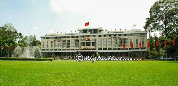 Các địa điểm nên đến khi du lịch Sài Gòn: Địa điểm du lịch nổi tiếng ở Sài Gòn