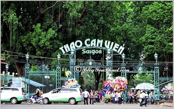 Các địa điểm nên đến khi du lịch Sài Gòn: Địa điểm tham quan, du lịch đẹp, thú vị ở Sài gòn