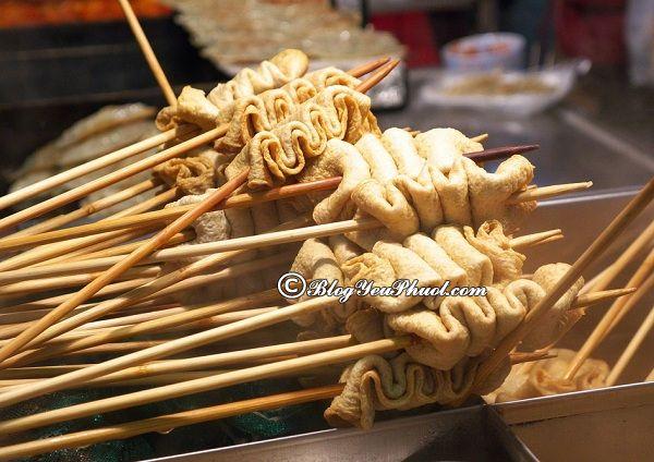 Danh sách các món ăn đường phố Hàn Quốc: Món ăn ngon đường phố Hàn Quốc nổi tiếng, giá rẻ