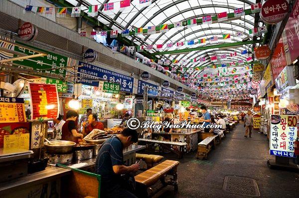 Ăn ở đâu khu du lịch Hàn Quốc? Những món ăn đường phố nổi tiếng, độc đáo ở Hàn Quốc