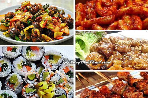 Các món ăn đường phố ngon tại Hàn Quốc: Hàn Quốc có món ăn đường phố nào ngon, giá rẻ?