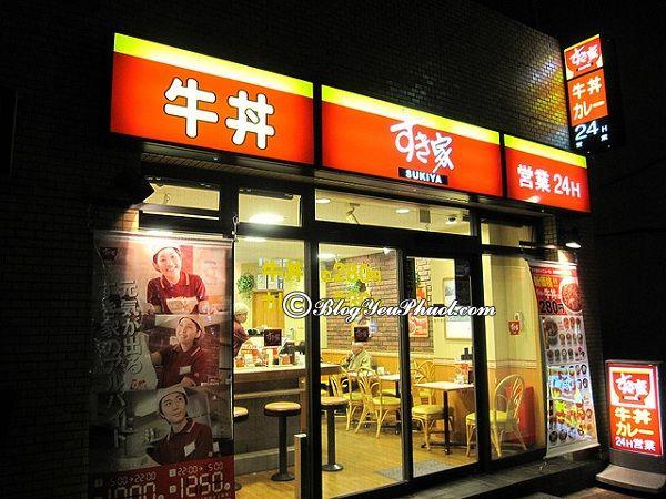 Các quán ăn ngon rẻ tại Tokyo: Địa chỉ ăn uống nổi tiếng ở Tokyo